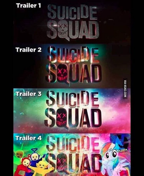 When The Suicide Squad Logo Keeps Dropping Acid Humor Meme Humor Amp Memes Com