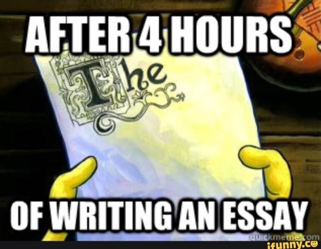 Write an essay in an hour