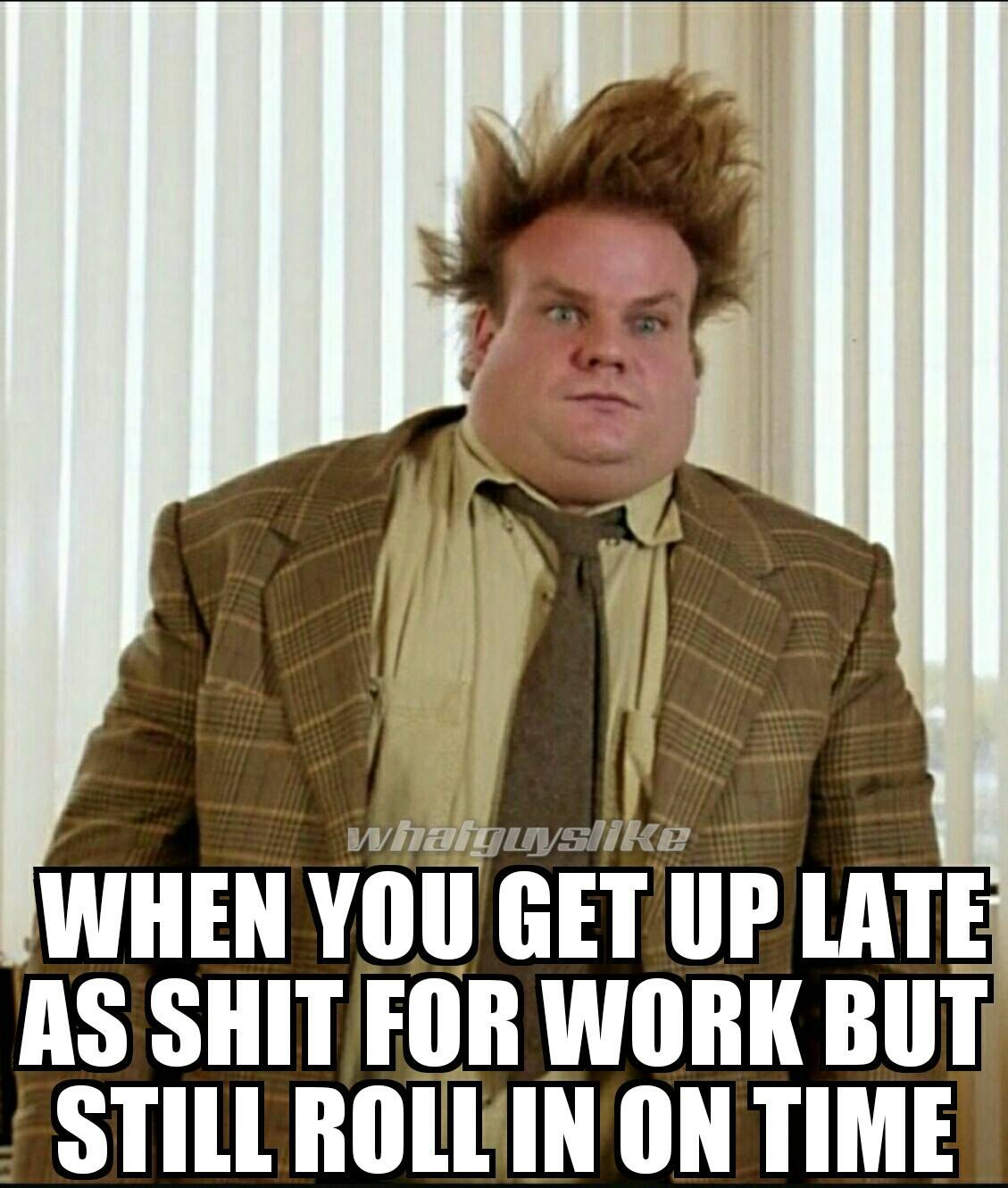 funny work meme when you get up late for work but funny office humor lol